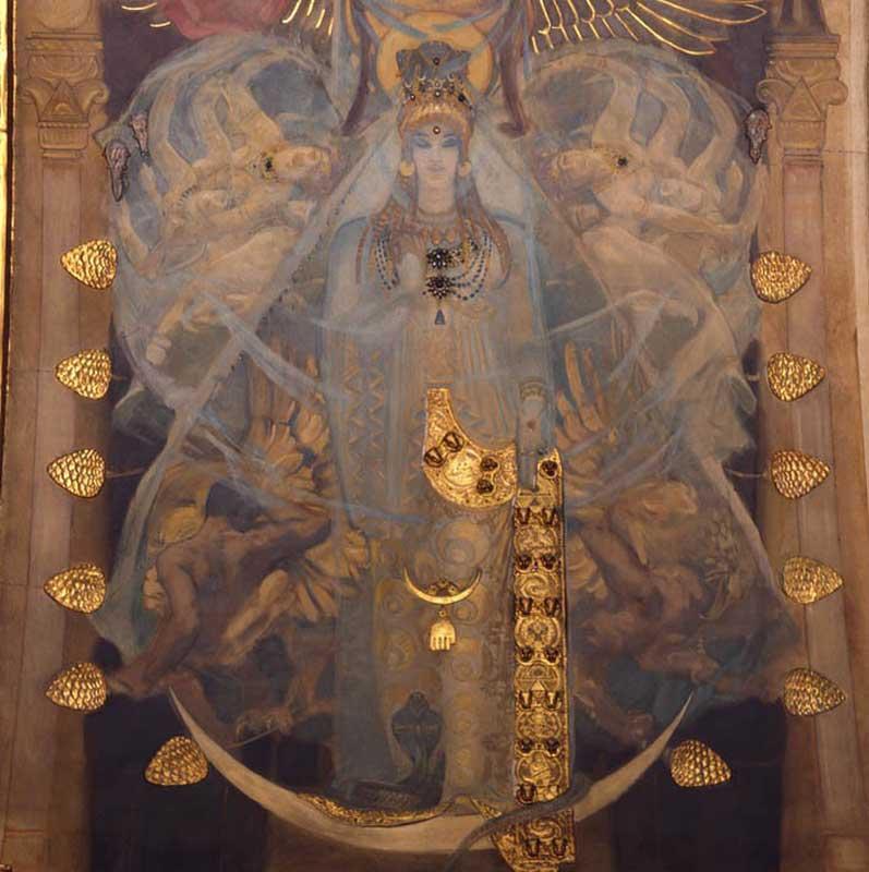 Sex in pagan temple